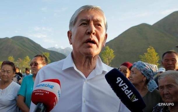 Атамбаев арестован и получил обвинение в коррупции