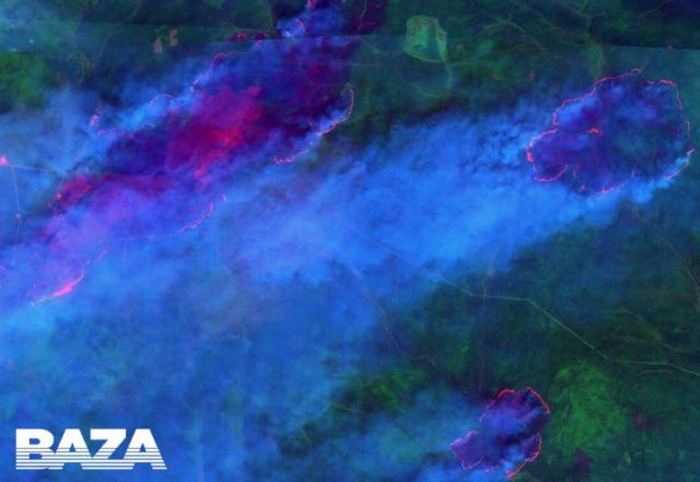 Огненный апокалипсис в Сибири сняли из космоса, детали катастрофы: «Эти кадры ужасают!»