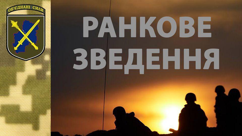 Вісті с фронту: бойовики застосували гранатомети та кулемети, у ЗСУ є поранений