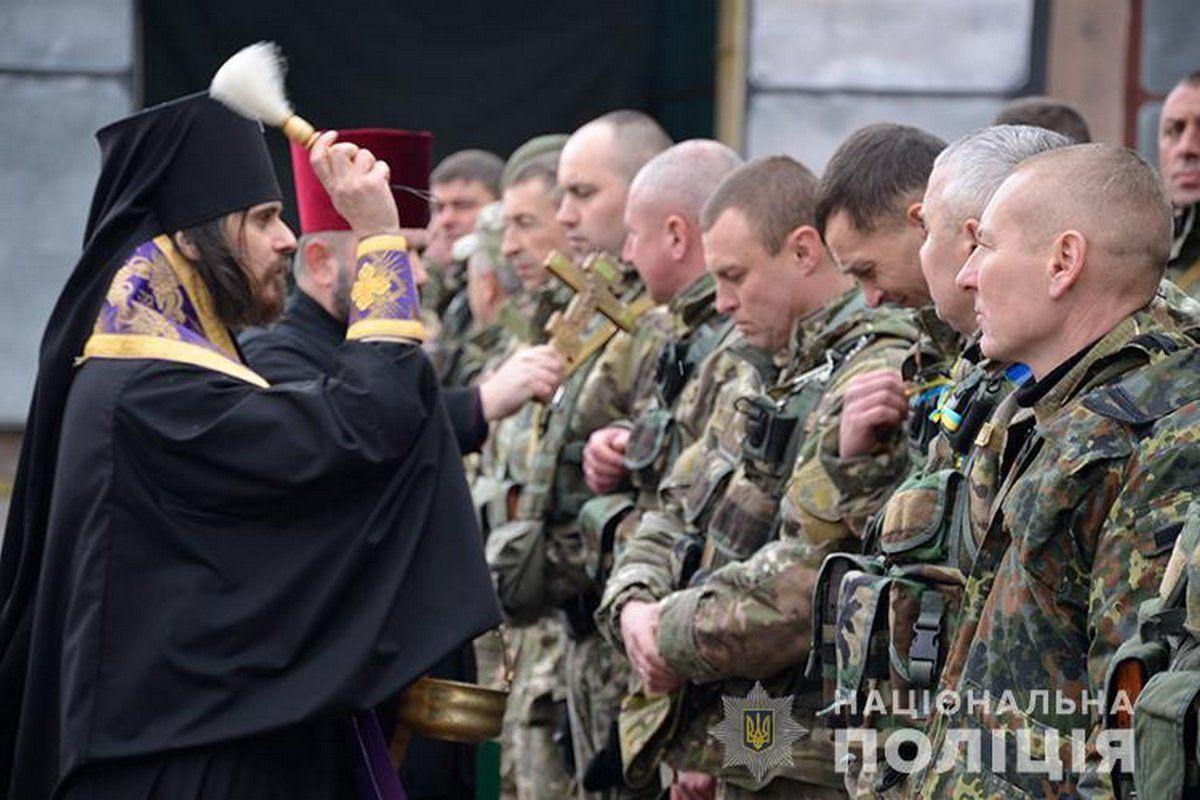 За время российско-украинской войны на Донбассе погибло 455 полицейских