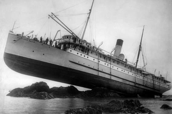 История эпического кораблекрушения Princess May