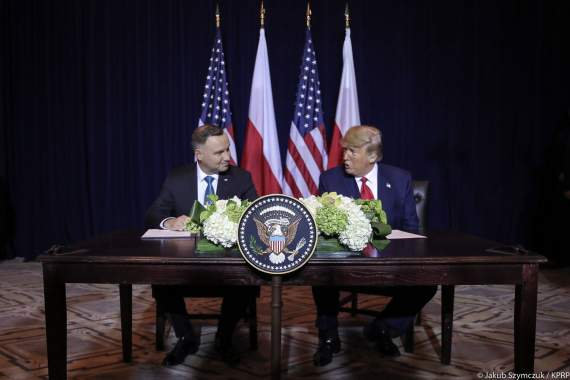 Новые американские военные базы в Польше.