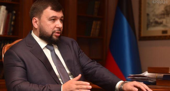 Пушилин до смерти напуган: Боевики рыщут по всему Донецку, ища взрывное устройство – блогер