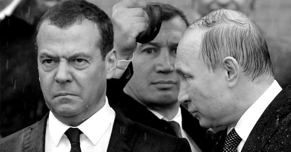 Путин призвал Медведева «не забрасывать экономику деньгами»