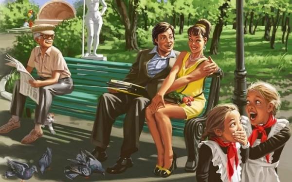 Скучающим по СССР девушкам самое время вспомнить про главную вещь каждой советской женщины