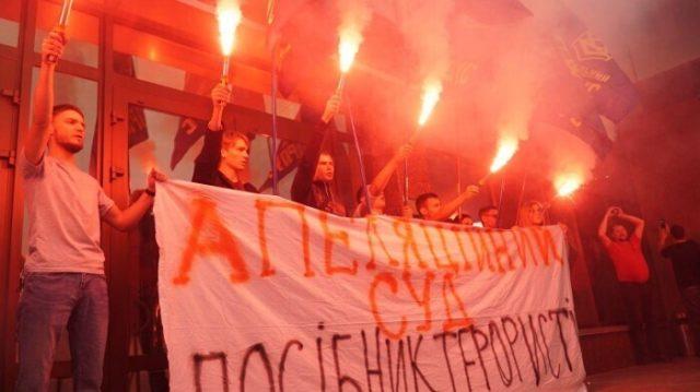 Украинцы вышли на улицы из-за освобождения Цемаха, обстановка накалилась: кадры бунта в Киеве