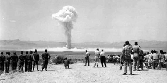 Первое испытание советской атомной бомбы.