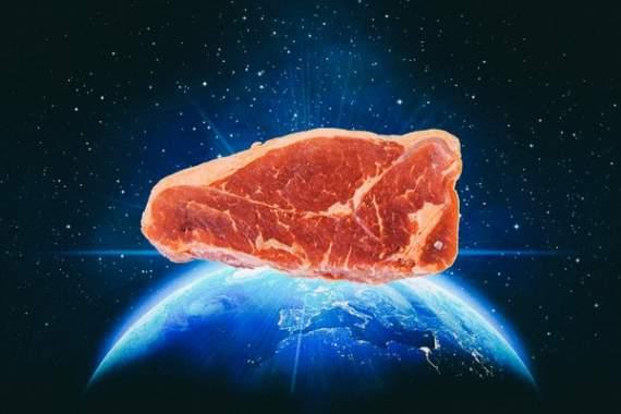 «Клетки начали размножаться»: В космосе впервые вырастили мясо