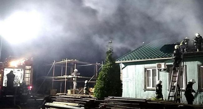 ЧП в Одессе: В монастыре УПЦ МП произошел сильный пожар