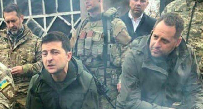«Какие-то вооруженные люди»: Зеленский прокомментировал свой визит в Золотое