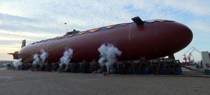 Появились новые данные о проекте необычной китайской подлодки. ФОТО