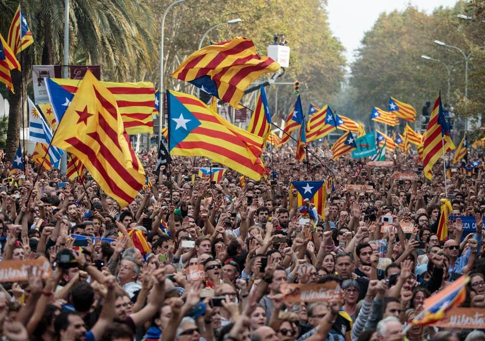Протесты в Каталонии: мэры городов обратились к Мадриду с жестким заявлением