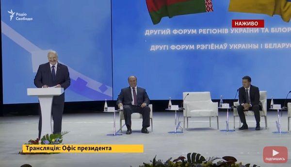 «Украина – это регион России»: на встрече с Зеленским Лукашенко открыто оконфузился