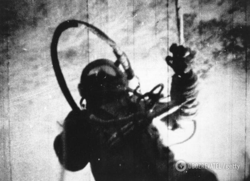 Умер космонавтАлексей Леонов, первый человек вышедший в открытый космос