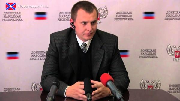 """Экс-""""министр культуры"""" """"ДНР"""" переехал в Киев"""