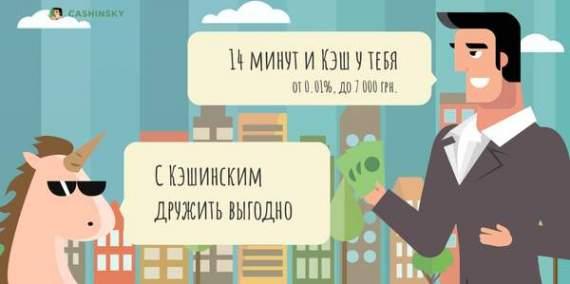 Команда МФО Cashinsky рассказала о новых кредитах онлайн под 0,01% для граждан Украины