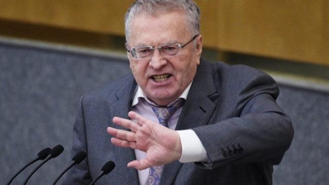 Жириновский выбрал для вторжения четыре украинских города: «Воздвигнем русский флаг над…»