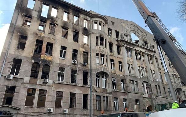 Пожар в Одессе: директору колледжа сообщили о подозрении
