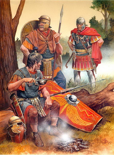 Сушить, солить и вялить. Что ели в армиях древних времен?