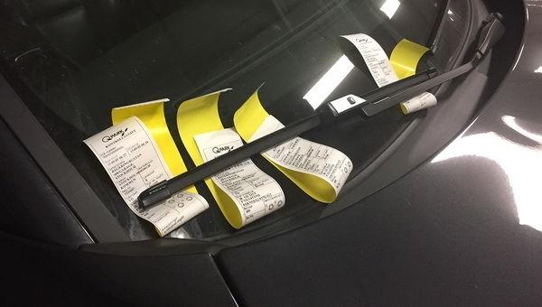Новый закон о парковке: полиция не сможет штрафовать водителей