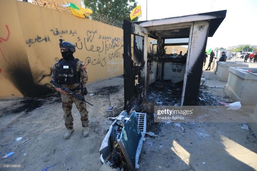 Штурм посольства США в Ираке: гибридные методы на вооружении КСИР