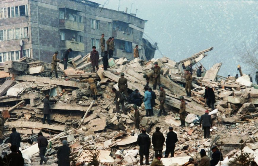 Землетрясение в Спитаке: было ли оно рукотворным?