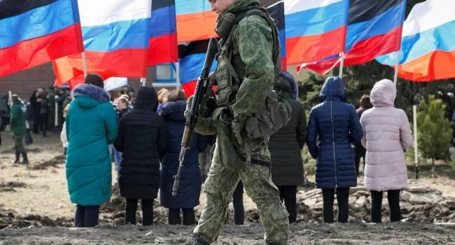 «Свобода в ДНР»: В Донецке всех, у кого нет паспорта «республики», задерживают и доставляют в «полицию»