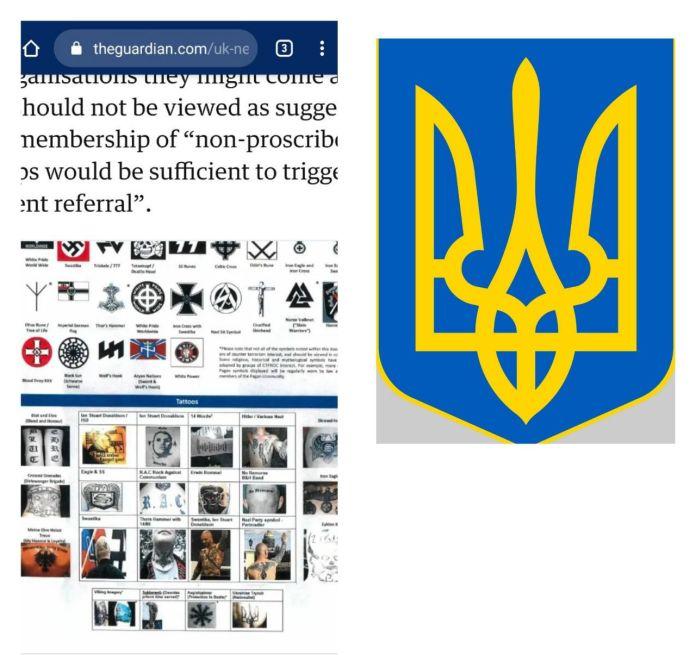 В Британии разгорелся скандал из-за украинского трезубца: реакция дипломатов