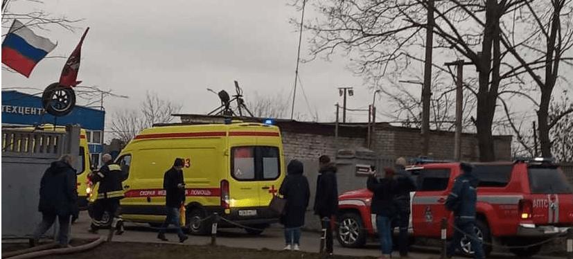 В РФ произошел взрыв на заводе резиновых изделий: есть погибшие и раненые. ФОТО