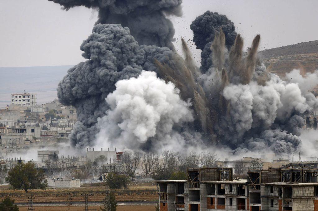 Война в Сирии: от авианалета российской авиации погибли дети
