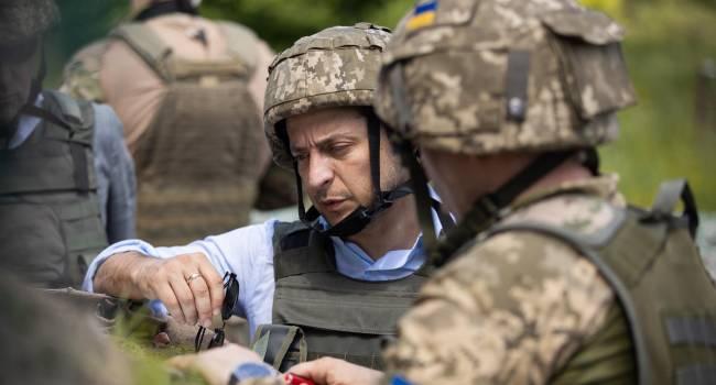 За полгода Зеленский умудрился превратить регулярную украинскую армию в некую структуру, которая воюет тайно — Доник