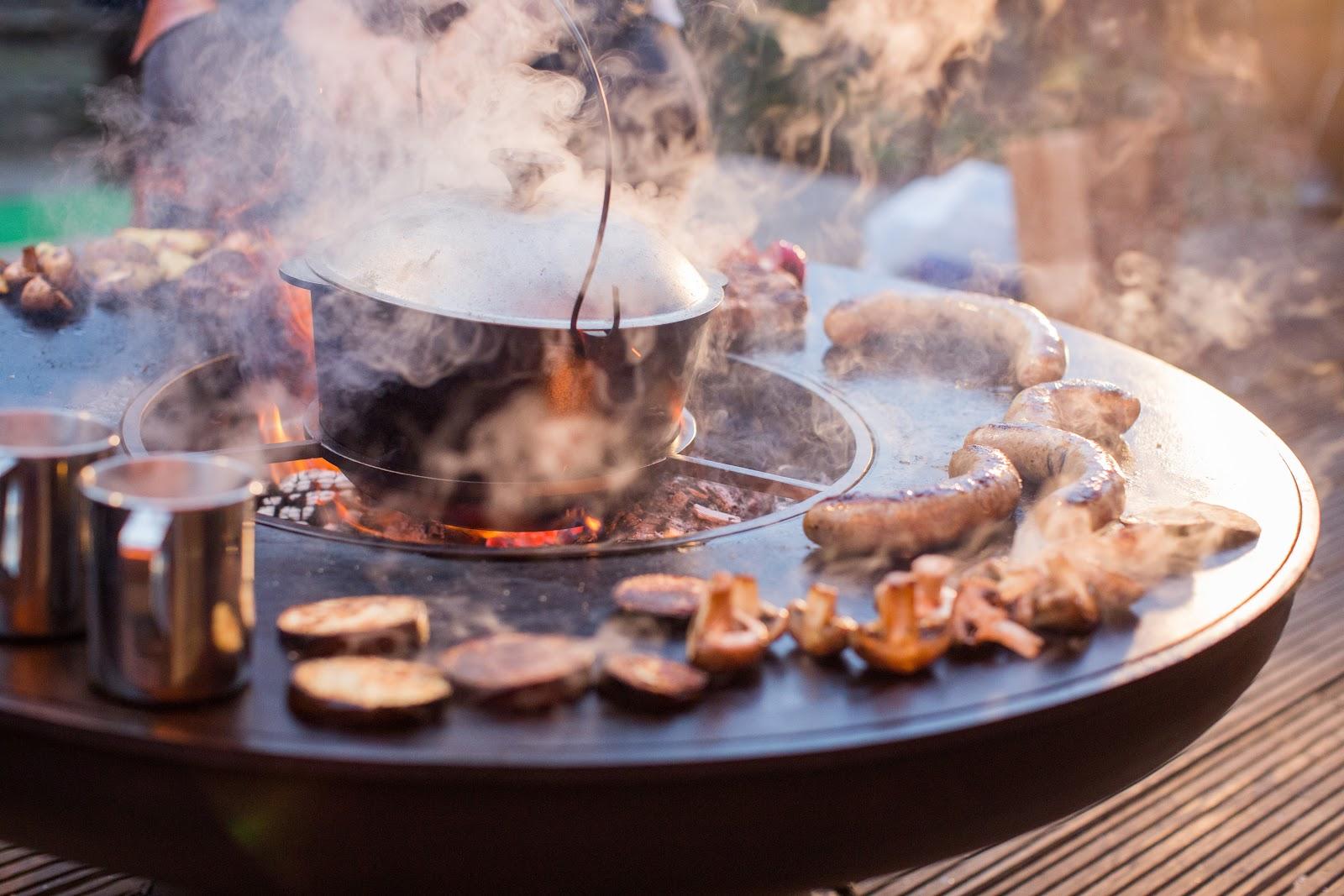 Круглые мангалы AHOS – лучший выбор для кафе и ресторана!