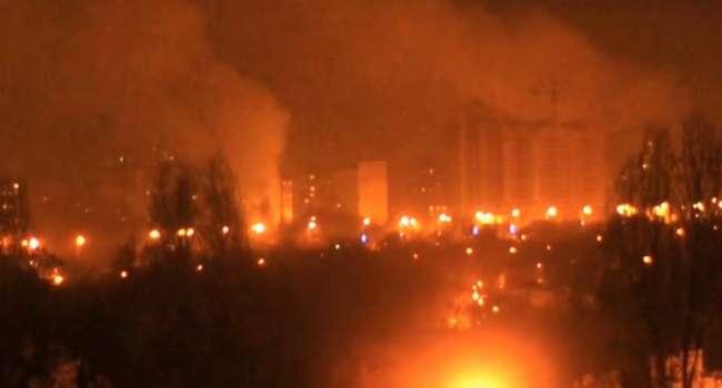 «Пи…ц в Донецке»: Город содрогается от взрывов, такого не было с 2014-го
