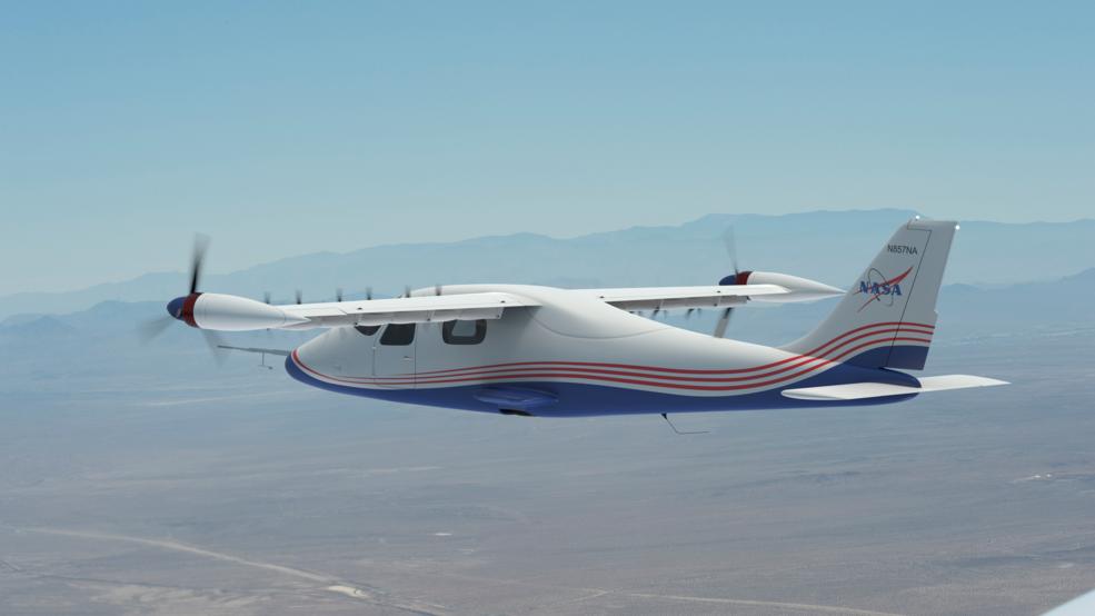 Cтала известна конфигурация электросамолета X-57 Maxwell