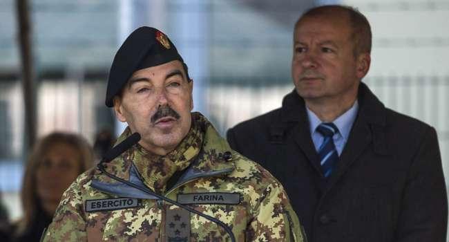 Глава Генштаба ВС Италии заболел коронавирусом