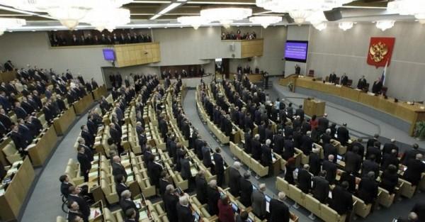 В Госдуме стоя поприветствовали приехавших на заседание украинских депутатов