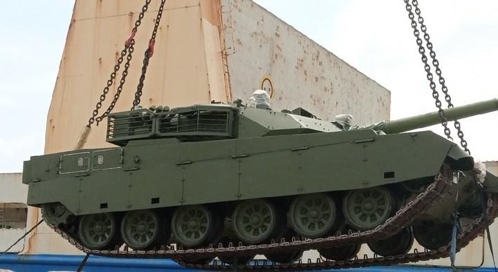 Нігерія отримала китайські танки VT4