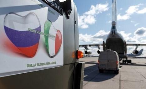 The Telegraph: Российская миссия по оказанию помощи Италии – это прикрытие для сбора разведданных