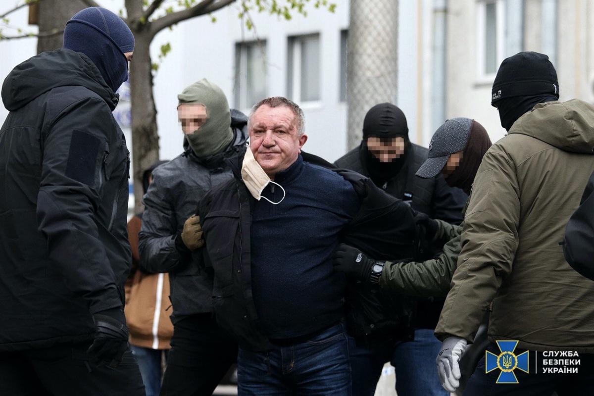 Затримано генерал-майора СБУ за підготовку терактів і держзраду