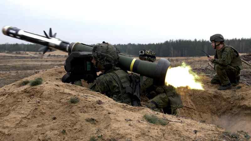 США передали Естонії 128 протитанкових ракет Javelin