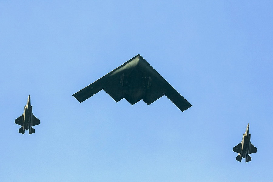 США перекинули в Європу стелс-бомбардувальники B-2 Spirit