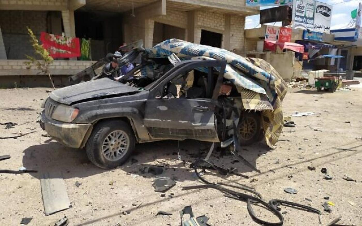 """Ізраїльський безпілотник знищив автомобіль """"Хезболла"""" поблизу кордону між Сирією та Ліваном"""