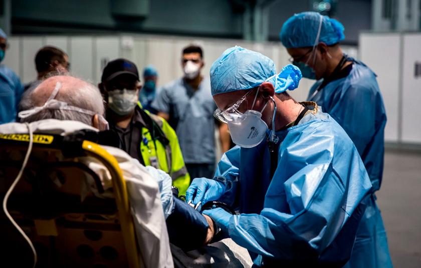Коронавирус в США: штат Нью-Йорк ставит печальные рекорды