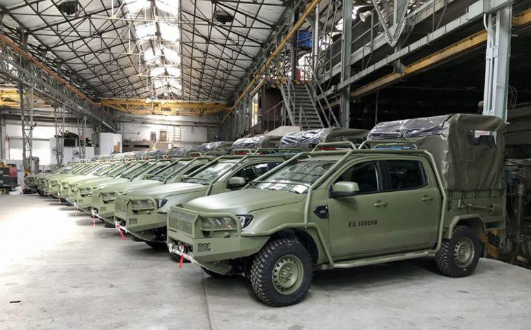 Аргентинська армія отримує нові машини