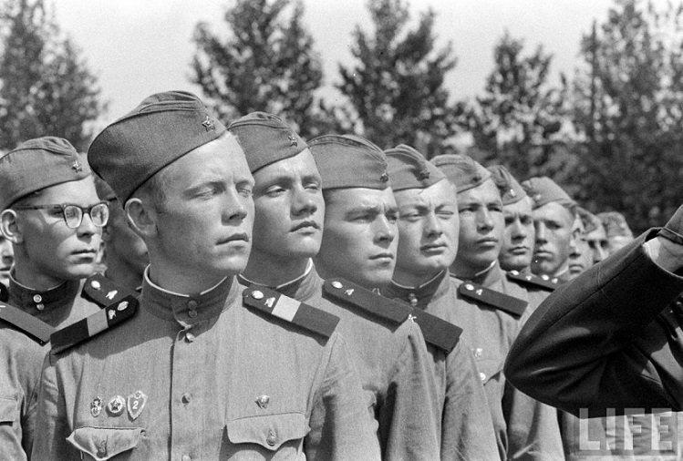 Мордобой в советской армии