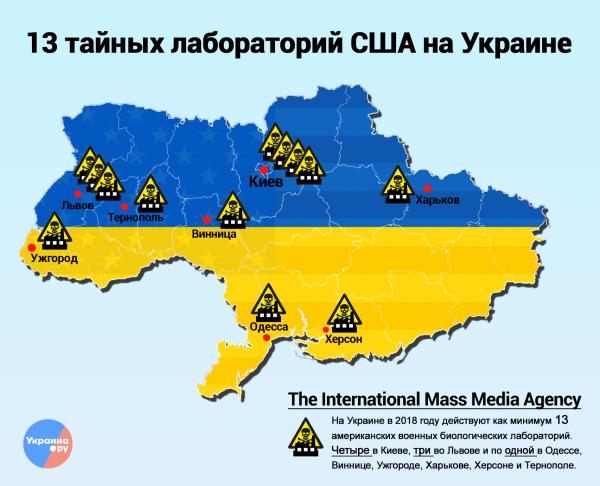 Фейк про американські біолабораторії в Україні