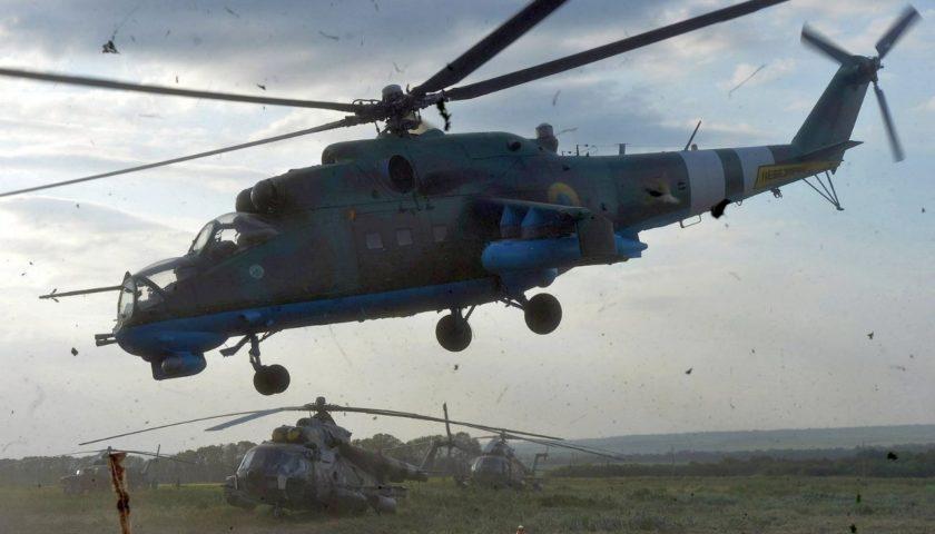 Чорна п'ятниця українських вертолітників: два збитих Мі-24 під Слов'янськом