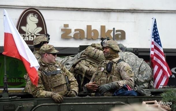 США передислоцирует в Польшу несколько тысяч военных