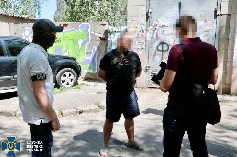 У Харкові затримали шпигуна-зрадника, який працював на російську військову розвідку. ВІДЕО