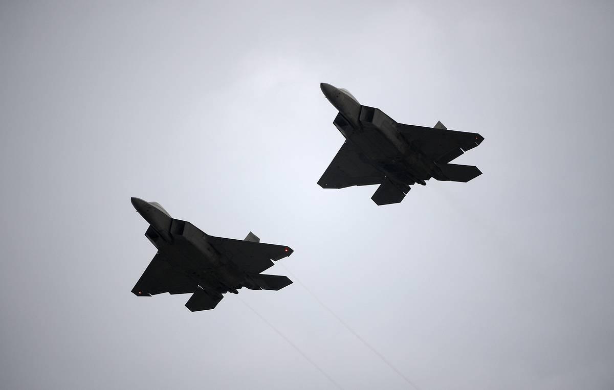 ВВС США припинили провокаційний політ літаків-розвідників РФ поблизу Аляски